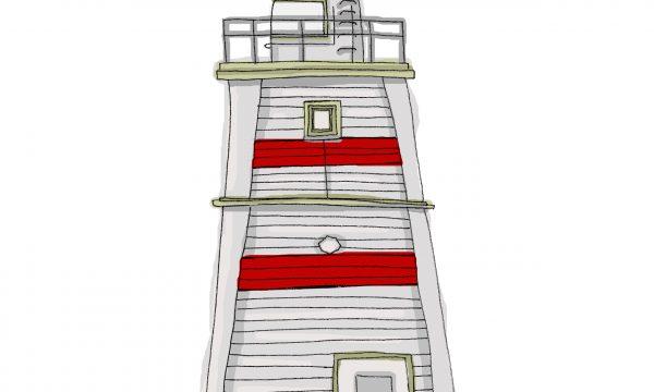 Illustration of Hartlepool Lighthouse