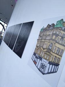 Photo of Lizzie Lovejoy's A Change of Perspective exhibition at ARC.