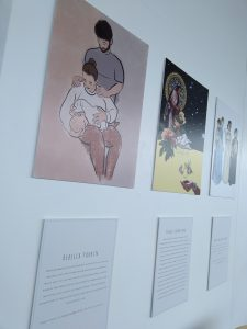 Photo of A Change of Perspective: What Do You Call Family? exhibition by Lizzie Lovejoy at ARC.